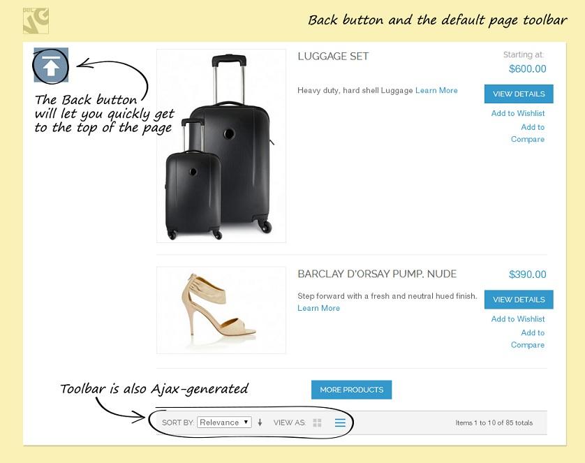 Ajax Toolbar