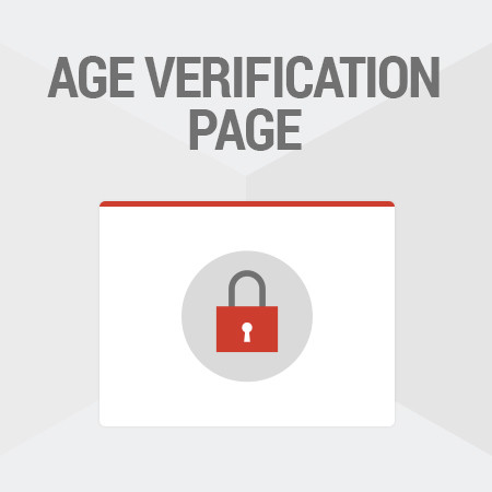 Magento<sup>®</sup> Age Verification
