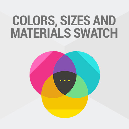 Magento<sup>®</sup> Colors, Sizes and Materials Swatch v.2.0