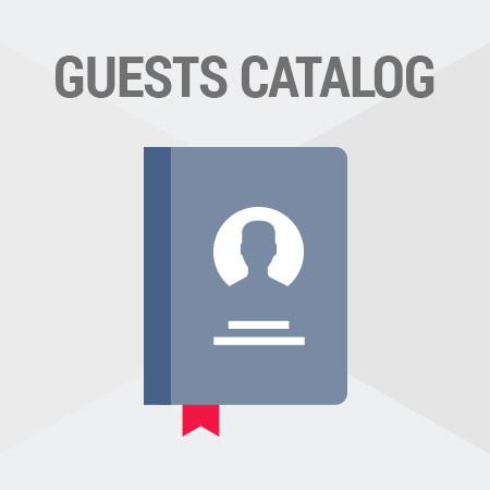 Magento<sup>®</sup> Guests Catalog