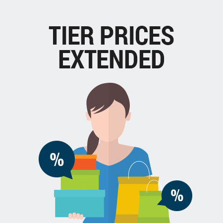 Tier Prices Extended for Magento<sup>®</sup> 2.0