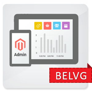 Magento<sup>®</sup> Tablet Dashboard