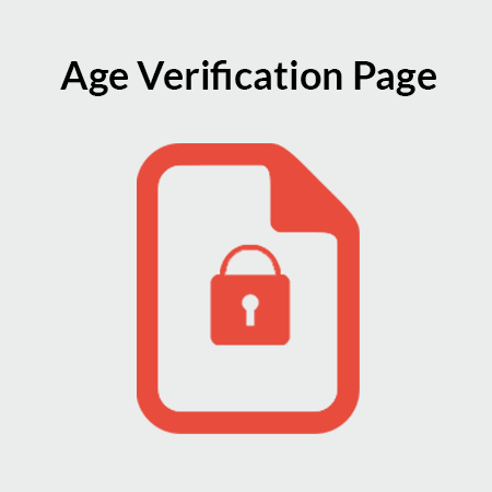 Age Verification Page for Magento 2