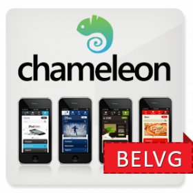 Chameleon Mobile and Tablet Theme