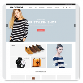 MageShop Responsive Template