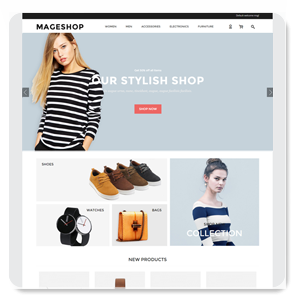 MageShop Free Responsive Template