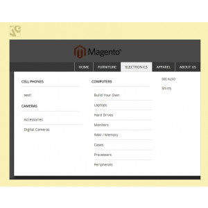 Magento Dropdown Menu 3