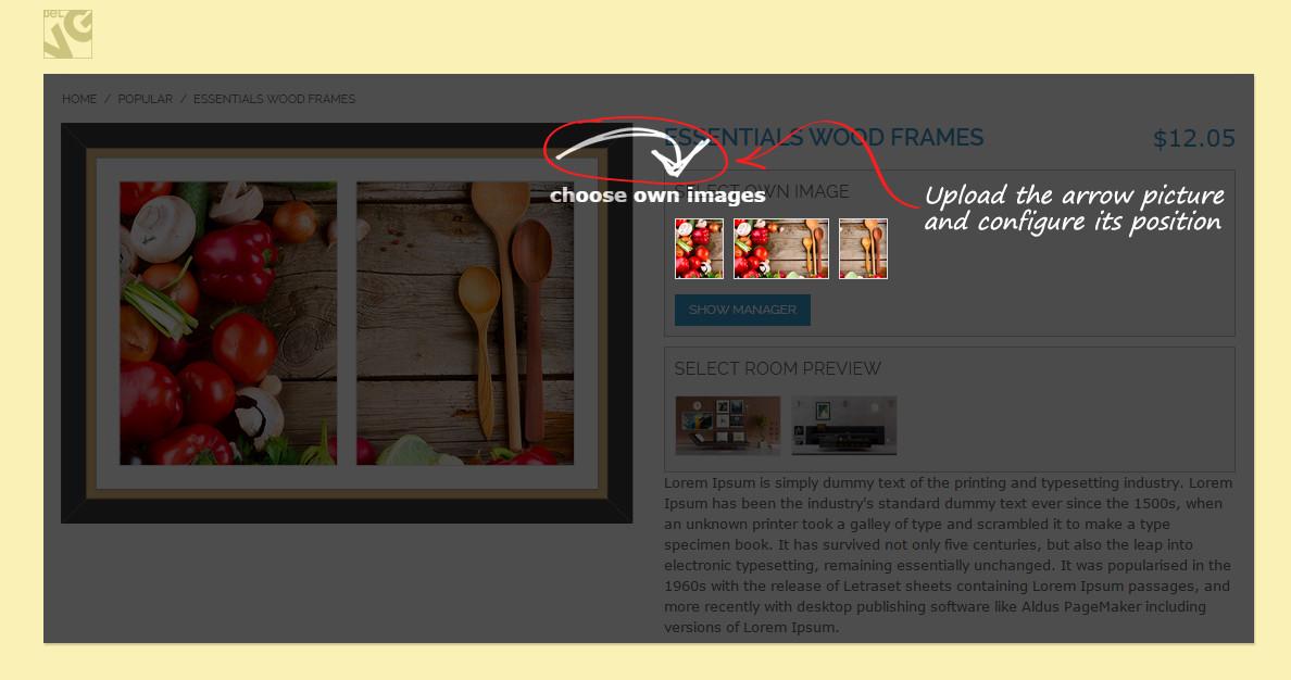 Magento® Framer Extension, Frames Plugin for Magento® Store — BelVG ...