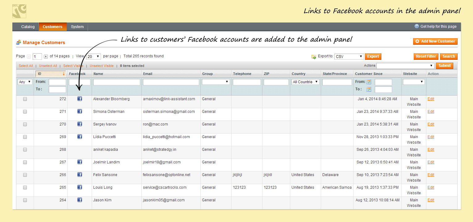 Magento Facebook Free  Facebook Connect and Like for Free — BelVG