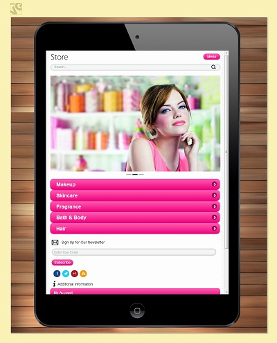 Chameleon Mobile & Tablet Theme